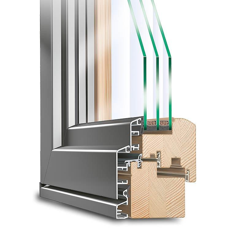 Holz alu fenster erfahrungen  Holz-Alu Fenster - Malek Fenster & Türen