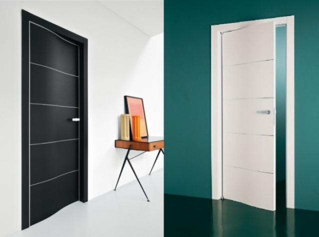 moderne-design-tueren-italien-lualdi-porte-welle-schwarz-weiss